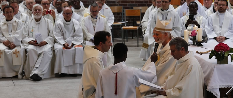 ordination de Julien TELLIER