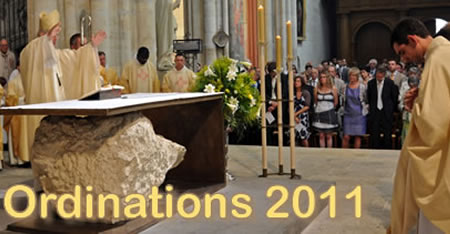 photo des ordinations 2011