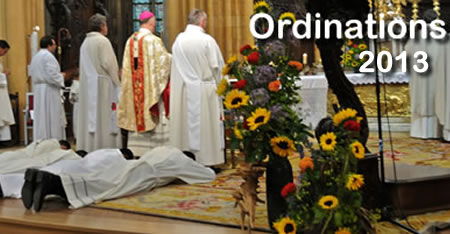 photo des ordinations 2013